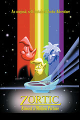 Zortic: Almost a Motion Picture A stand alone classic Zortic story told in the form of a movie storyboard