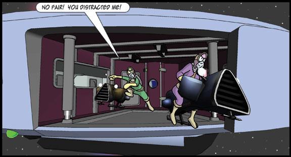 Zortic vs the Star Pirates – Act II Scene 3