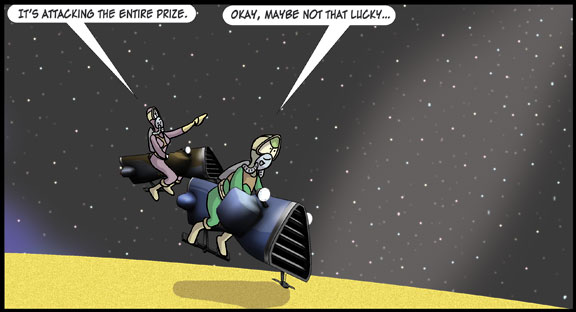 Zortic vs the Star Pirates – Act II Scene 5