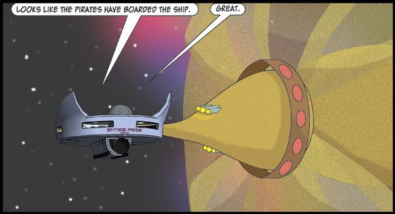 Zortic vs the Star Pirates – Act III Scene 1