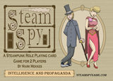Steam Spy: Intelligence and Propoganda